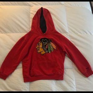 Reebok Hoodie Sweatshirt - Blackhawks